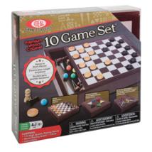 Ideal Premium Wood Cabinet 10 Game Set - $38.60