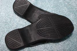 Back Slides 7 Black Mules Clogs Open Women's Minnetonka Leather M Slip On aCzwp8q