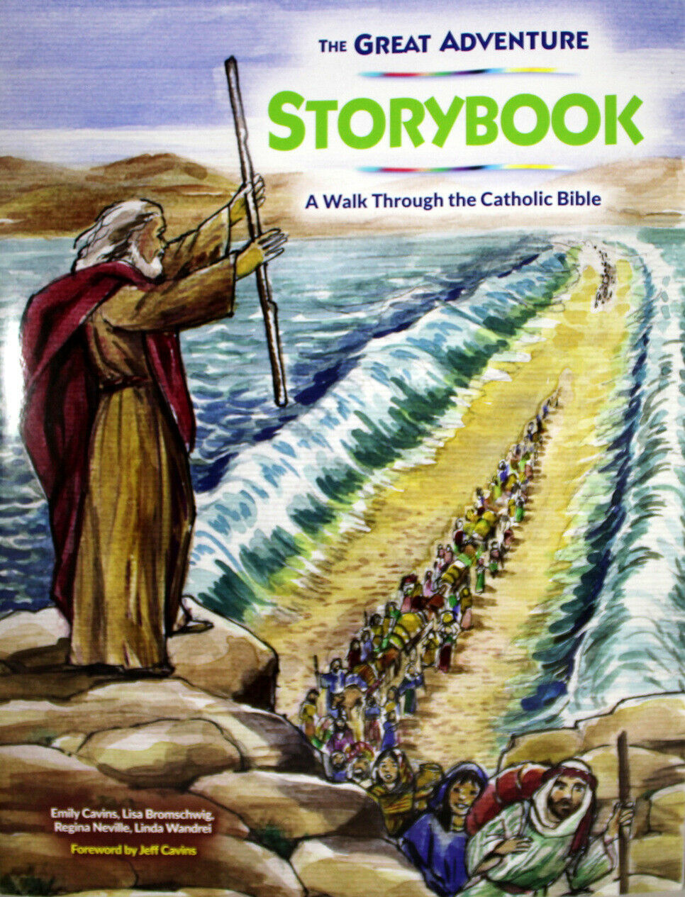 Primary image for The Great Adventure Storybook NEW Paperback Book Walk Through The Catholic Bible