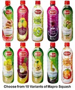 Mapro Squash Choose from 10 Variants Drink Liquid Concentrate from India - $30.00