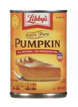 Libby's 100% Pure Pumpkin 15 oz. Canned Pumpkin - Pumpkin Pie - $4.99