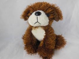 "Plushland Puppy Dog Brown Soft Plush 6"" Adorable! - $5.93"