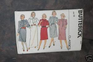 Primary image for Butterick 4607 Misses'Dress sz(10)  Dress Pattern
