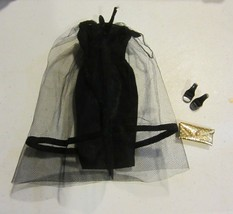 Vintage barbie outfit Black magic - $99.75