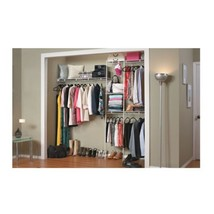 Free Standing Closet System Wardrobe Organization Kit Bedroom Shelving O... - $55.39