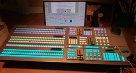 Ross Vision Switcher Control Panel V3P-001 used - $12,870.00