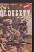 The Adventures of Davy Crockett Triple Nickel Book 1955 Nat Wilson - $14.03