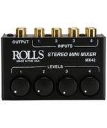 Rolls MX42 Stereo Mini Mixer - $57.32