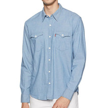 Levi's Men's Classic Western Long Sleeve Button Up Casual Dress Shirt 574060009 image 1