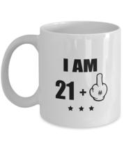 Awesome Coffee Mug- 22 Birthday Mug - I Am 21 + 1 Years Old - Birthday G... - $14.95