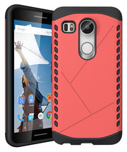 Hybrid Dual Layer Rugged ShockProof Protective Case Cover For LG Nexus 5... - $4.99
