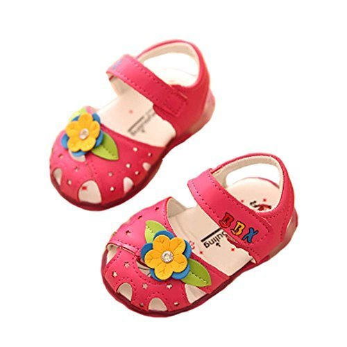 Summer Baby Sandals Princess Shoes 0-1-2 Years Old Baby Toddler Shoes Girls