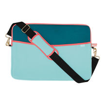 """Quip Brand Sm Padded Laptop Sleeve with Strap! QUIP Laptop case 13.5""""x10.25"""" NEW image 3"""