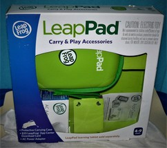 NEW LeapPad Carry & Play Accessories by LeapFrog- Green - $14.11