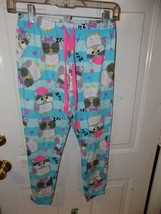 Justice Striped Owl Pajama Pants Size 10 Girl's EUC - $16.02