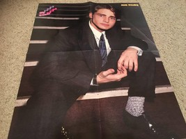 Jason Priestley The Party teen magazine poster clipping on stairs suit 90210