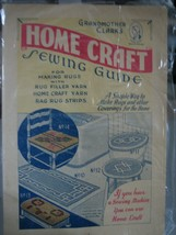 Grandmother Clark's Home Crafts Sewing Guide for Making Rugs (Pamphlet, ... - $19.79