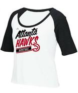 NWT NBA Atlanta Hawks Women's Large Short Sleeve Tee Shirt - $18.76