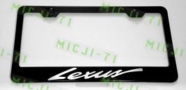 Lexus F Sport Laser Style Script Stainless Steel License Plate Frame W/Bolt Caps - $11.50
