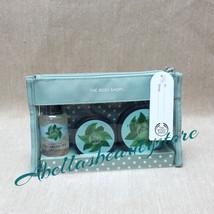 The Body Shop Fuji Green Tea 4 Pc Gift Set Shower Gel,Body Butter,Scrub ... - $435,90 MXN