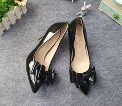 w bowtie 10 pointy pump extra top elegant pp333 US big 2 Size pink size x4tnXp