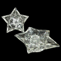 Vintage Hazel Atlas Clear Glass 5 Point Star Ta... - $5.32