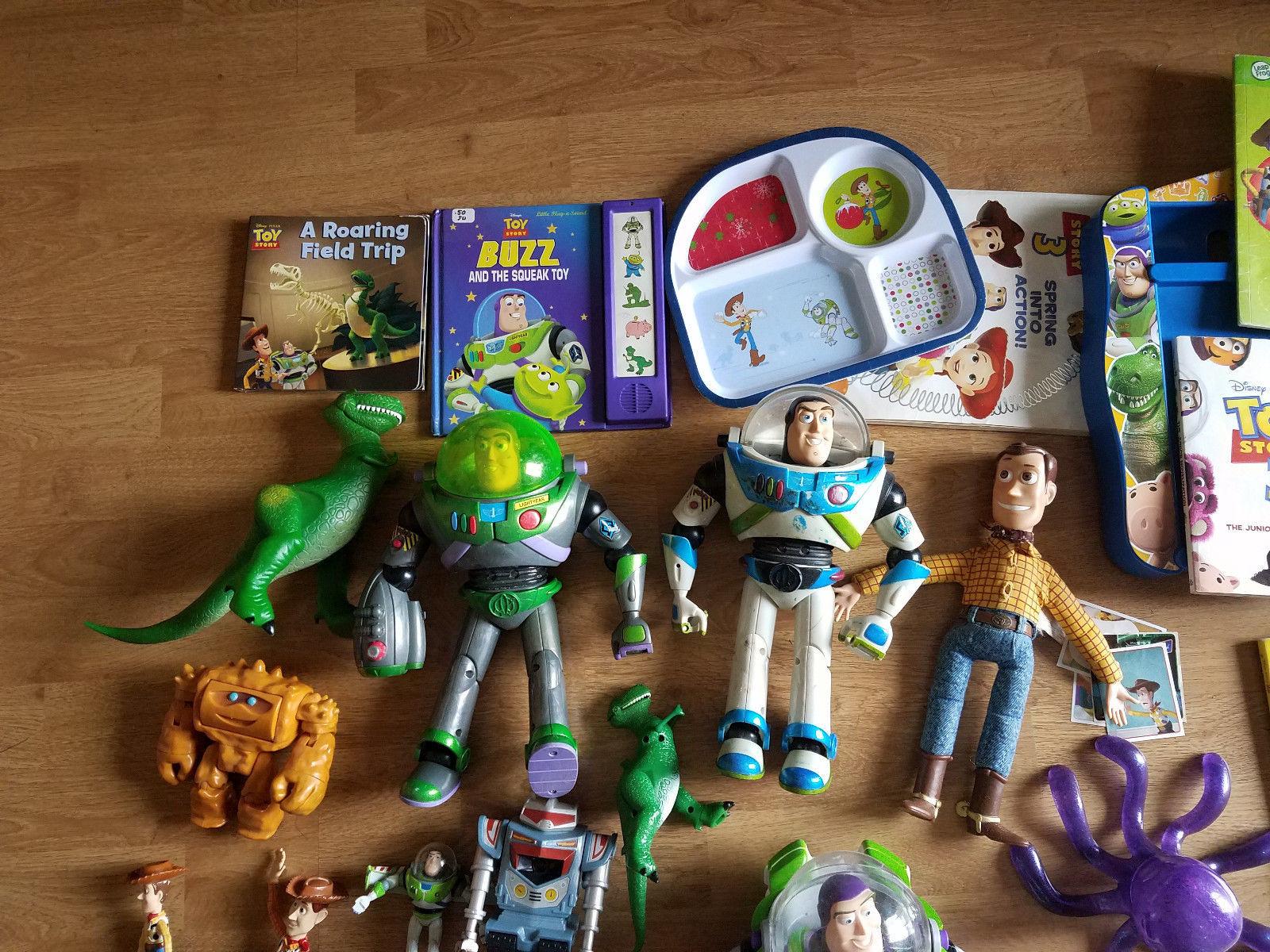 Disney PIXAR Toy Story 1 2 3 Figure Books Coloring Puzzle & MORE