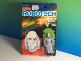 1985 MATCHBOX ROBOTECH ACTION FIGURE MOC ANIME ENEMY MASTER ELDER ZENTRA... - $38.36