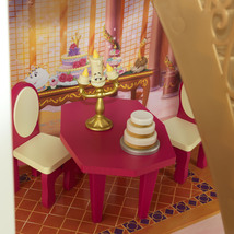 Disney Princess Belle Enchanted Dollhouse w/Furniture and Accessories image 4