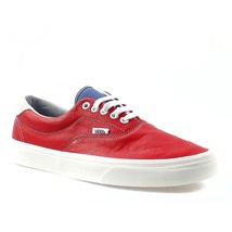 NEW AUTHENTIC VANS ERA 59 VINTAGE SPORT RACING RED WHITE MENS 7.5 SHOES WOMENS 9