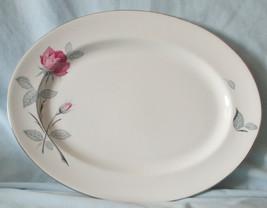 Zylstra Trent Rose England Oval Platter - $25.63