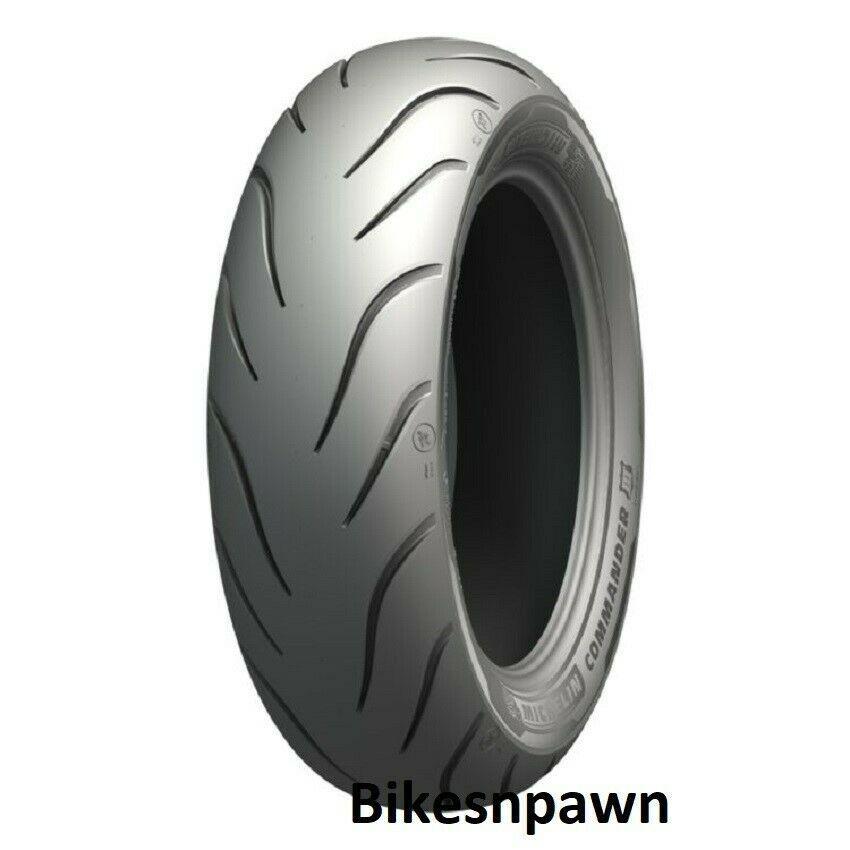 Michelin Commander III Touring MU85/90-16 REIN Rear Motorcycle Tire 2X Life 77H