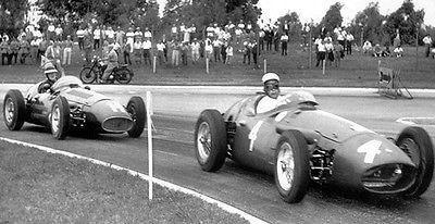Primary image for 1956 Maserati 250F F1 at Argentina GP Buenos Aires - Photo Poster