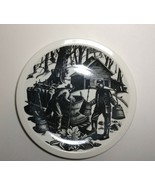 Wedgwood New England Industries Sugaring Plate by Clare Leighton - $79.18