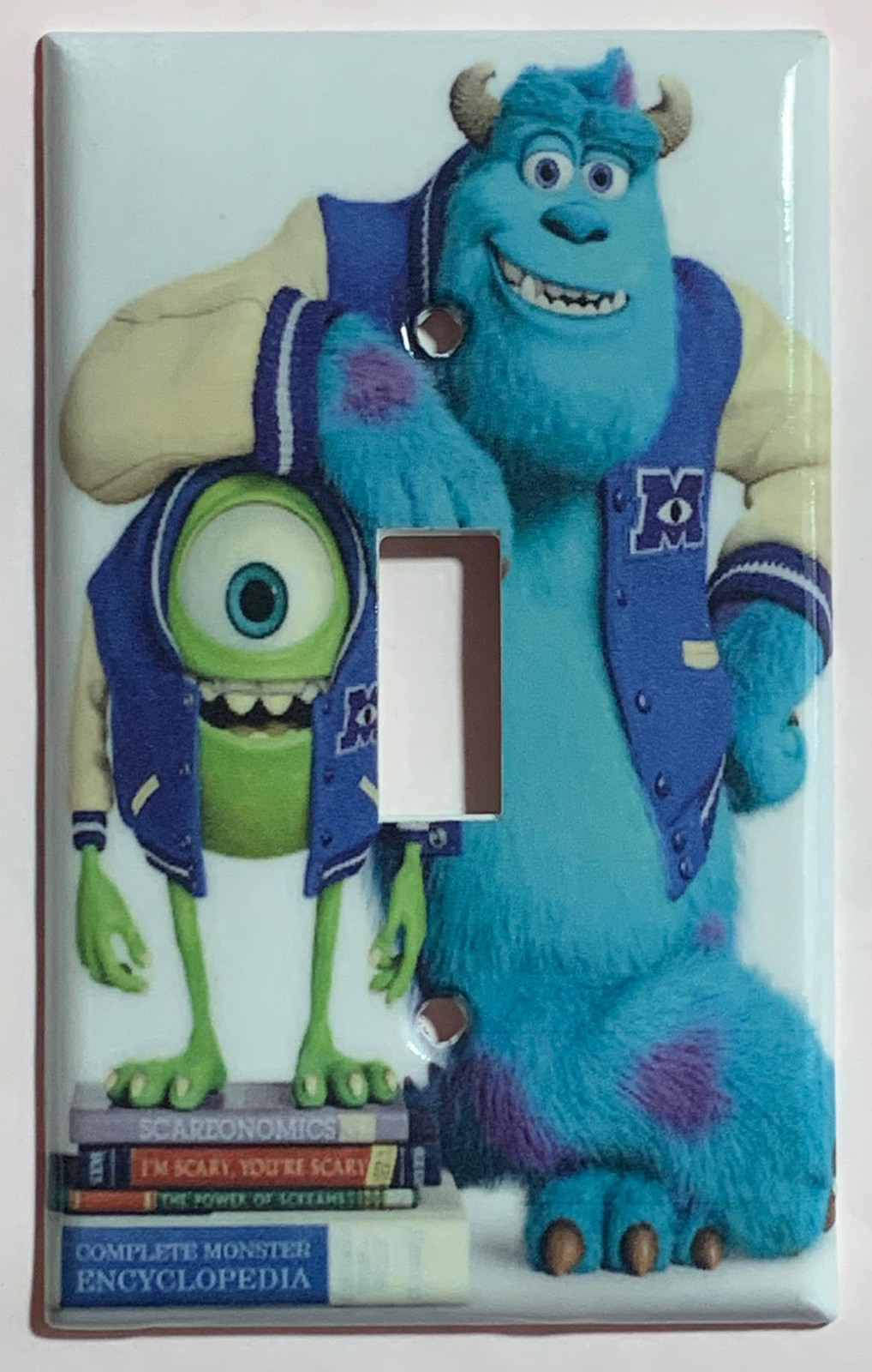 Monster University James Light Switch Outlet Wall Cover Plate Home Decor