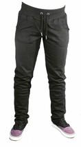 Bench Womens Black Alcester Trouser Fleece Lounge Yoga Pants BLNA1373