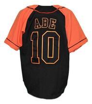 Shinnosuke Abe Yomiuri Giants Tokyo Baseball Jersey Button Down Black Any Size image 2