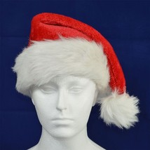 Deluxe Father Christmas Santa Hat Xmas Fancy Dress Accessories Stocking ... - $4.99