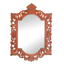 Bathroom Mirrors For Wall, Bedroom Wall Art Cool Vintage Coral Mirror Wall - $46.33