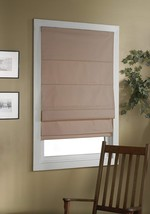 Green Mountain Vista Thermal Blackout Cordless Roman Shade, 32 by 63-Inc... - $131.54