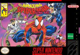 The Amazing Spider - Man Lethal Foes NTSC USA SNES Super Nintendo Video ... - $19.99