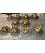 Malleable Iron Flange With 22 mm Brass Fittings X 10 - $39.01