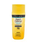 Neutrogena Beach Defense Water + Sun Protection Sunscreen Lotion SPF 70 ... - $8.60