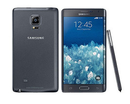 "SAMSUNG GALAXY NOTE EDGE BLACK SM-N915S UNLOCKED 5.7"" QHD 32GB PHONE image 1"