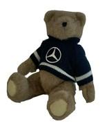 1994 Ganz Mercedes-Benz Teddy Bear Knit Blue Sweater With Articulated Legs - $26.14