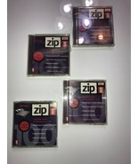 iomega Zip Disk 100 lot of 4 Used Disk Formatted for Macintosh - $18.69