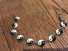"6"" Bracelet with Nine Yin and Yang Mediallions - $10.50"