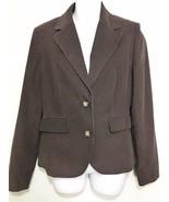 Vineyard Vines Shep Ian Womens 8 Brown Cotton Corduroy Blazer Jacket - $73.01