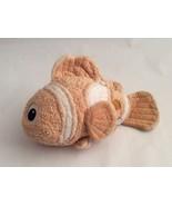 "DISNEY EXCLUSIVE Finding Nemo pastel orange COZY NEMO CLOWN FISH 15"" sof... - $9.49"