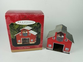 Hallmark Keepsake Ornament Red Barn - $11.63